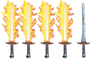 Four Flaming Swords