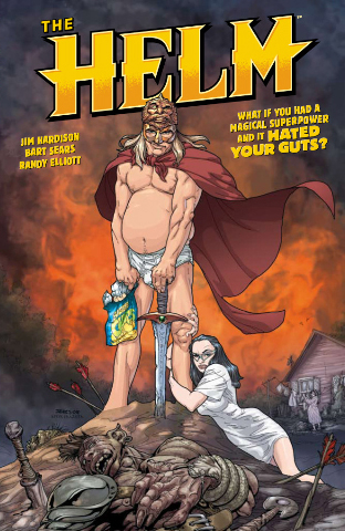 The Helm TPB Cover